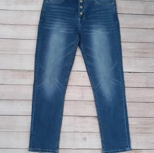 WALLFLOWER Sky High Curvy Fit Jeans Blue Size 7
